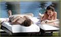 Justin Bieber & Selena Gomez Cuddle in Cabo