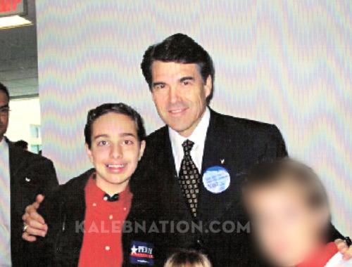 Kaleb Nation and Rick Perry