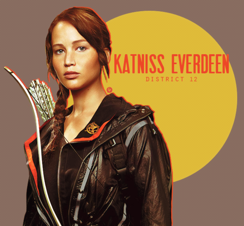 The Hunger Games achtergrond entitled Katniss Everdeen