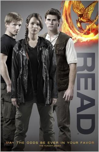 Katniss, Peeta and Gale