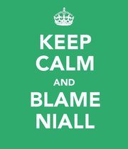 Keep Calm and Blame Niall
