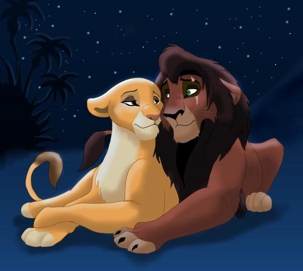 Fotos muy lindas Kovu y Kiara: - Página 2 Kovu-and-Kiara-the-lion-king-2-simbas-pride-27534958-607-543