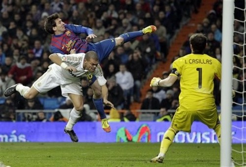 Lionel Messi - FC Barcelona (3) v Real Madrid (1)