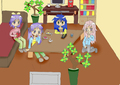 Lucky Star My own Creation - lucky-star fan art