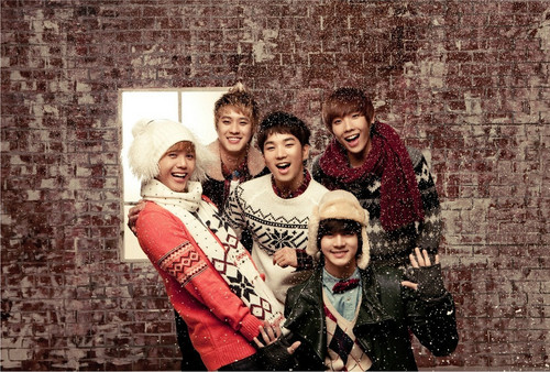 "MBLAQ দেওয়ালপত্র possibly with a রাস্তা entitled MBLAQ ""White Forever"" promotional pics"