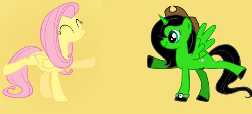 Me and Fluttershy Dancing