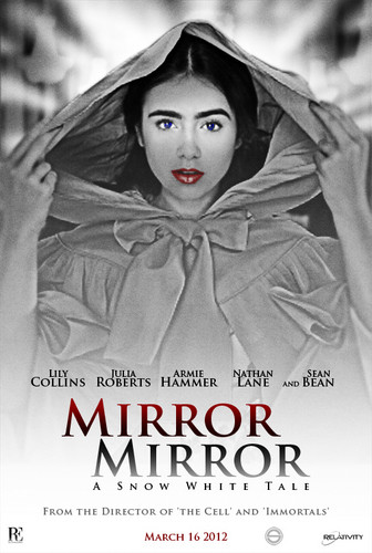 Mirror Mirror fanmade poster - the-brothers-grimm-snow-white-2012 Fan Art