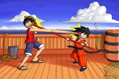 Monkey D. Luffy vs Monkey Boy