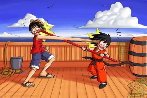 Monkey D. Luffy vs Monkey Boy