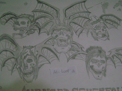 My avenged sevenfold Death Bats draw
