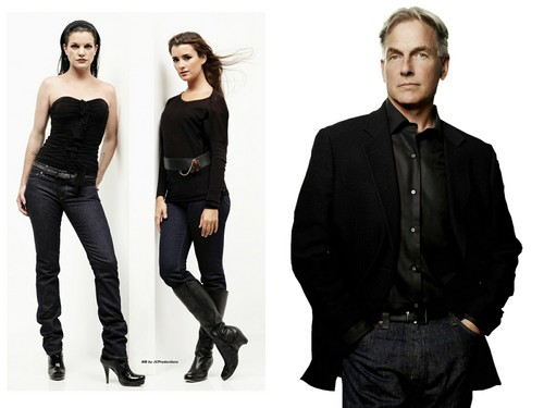 NCIS wallpaper containing a well dressed person and a business suit called NCIS _Gibbs, Abby & Ziva