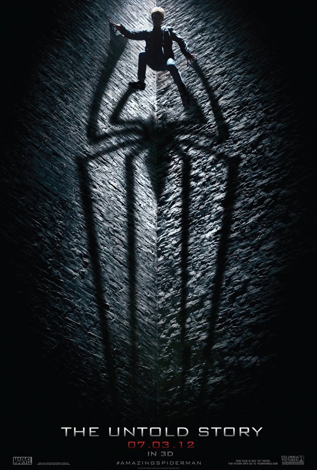 The amazing spider man movie poster