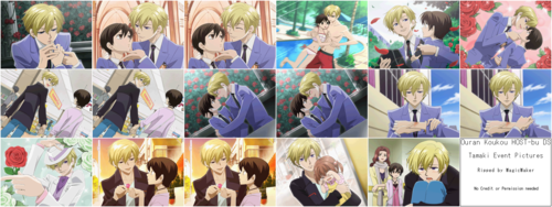 ouran high school host club wallpaper titled Ouran High School Host Club DS Game