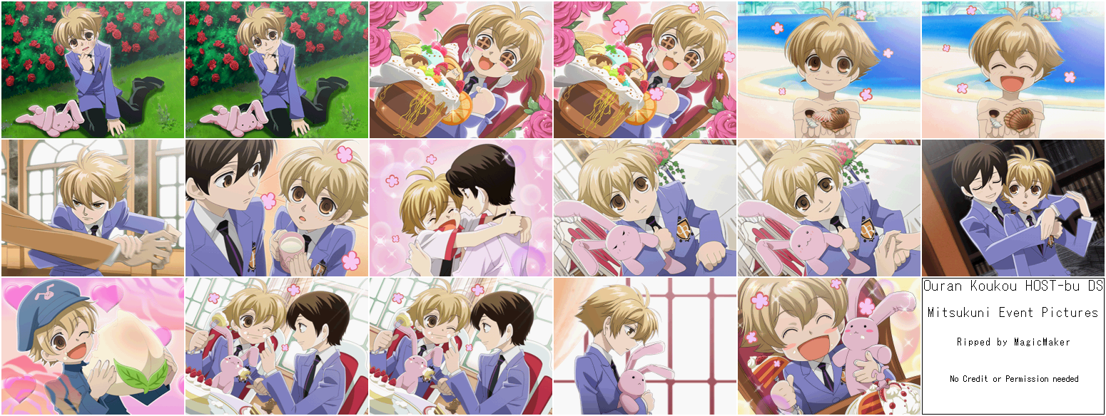 Ouran High School Host Club DS Game