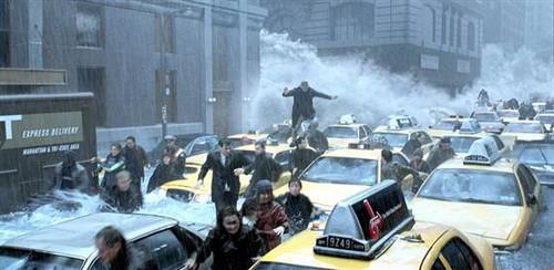 The día After Tomorrow fondo de pantalla probably with a smoke screen called Panic