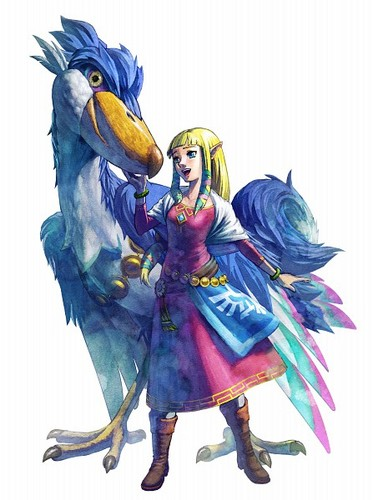 Princess Zelda - Art Work