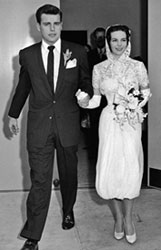 Robert and Natalie's first marriage