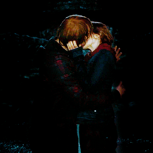 Everything i need to know i learned from ron and hermione - Hermione granger and harry potter kiss ...