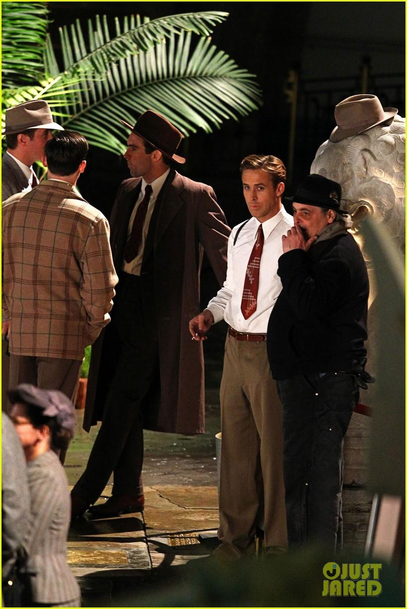 Ryan Gosling: 'Gangster Squad' Hits Hollywood Boulevard!