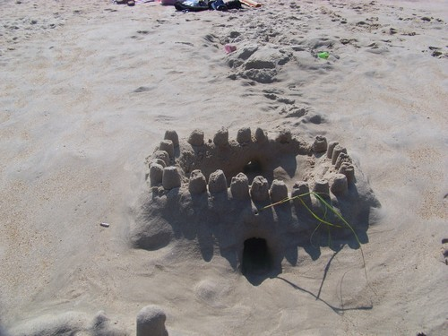Sand castelo