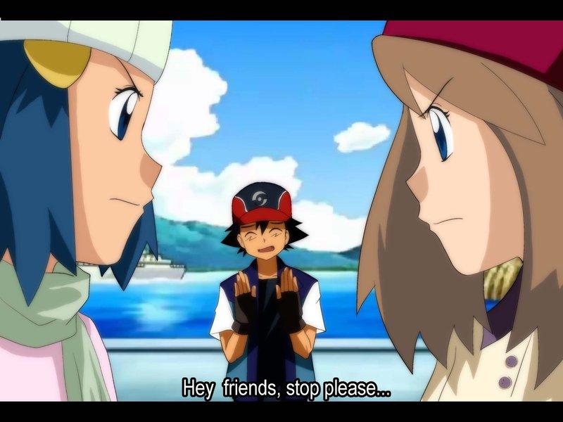 Pokemon Ash Misty May Dawn