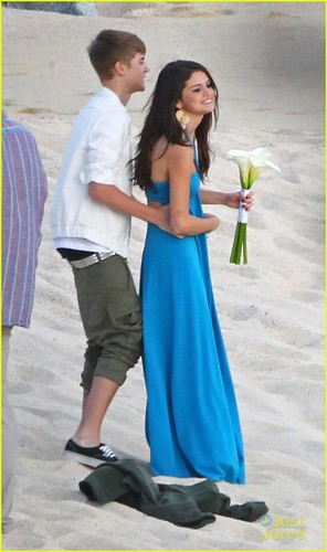 Selena Gomez & Justin Bieber: Wedding Party Pair