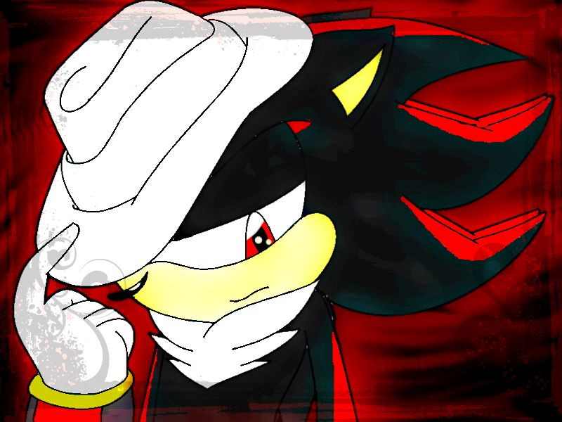 Shadow in Mj's Hat