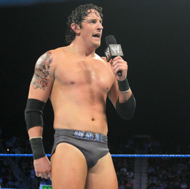 Wade Barrett wallpaper possibly with a pezzo, hunk and swimming trunks titled Smackdown Digitals 12/9/11