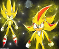 Super Sonic and Super Shadow