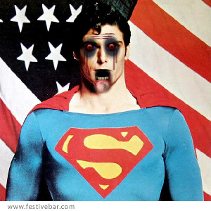 Superman wallpaper entitled Superman Zombie!!!