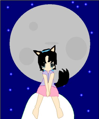 Suuki and the moon
