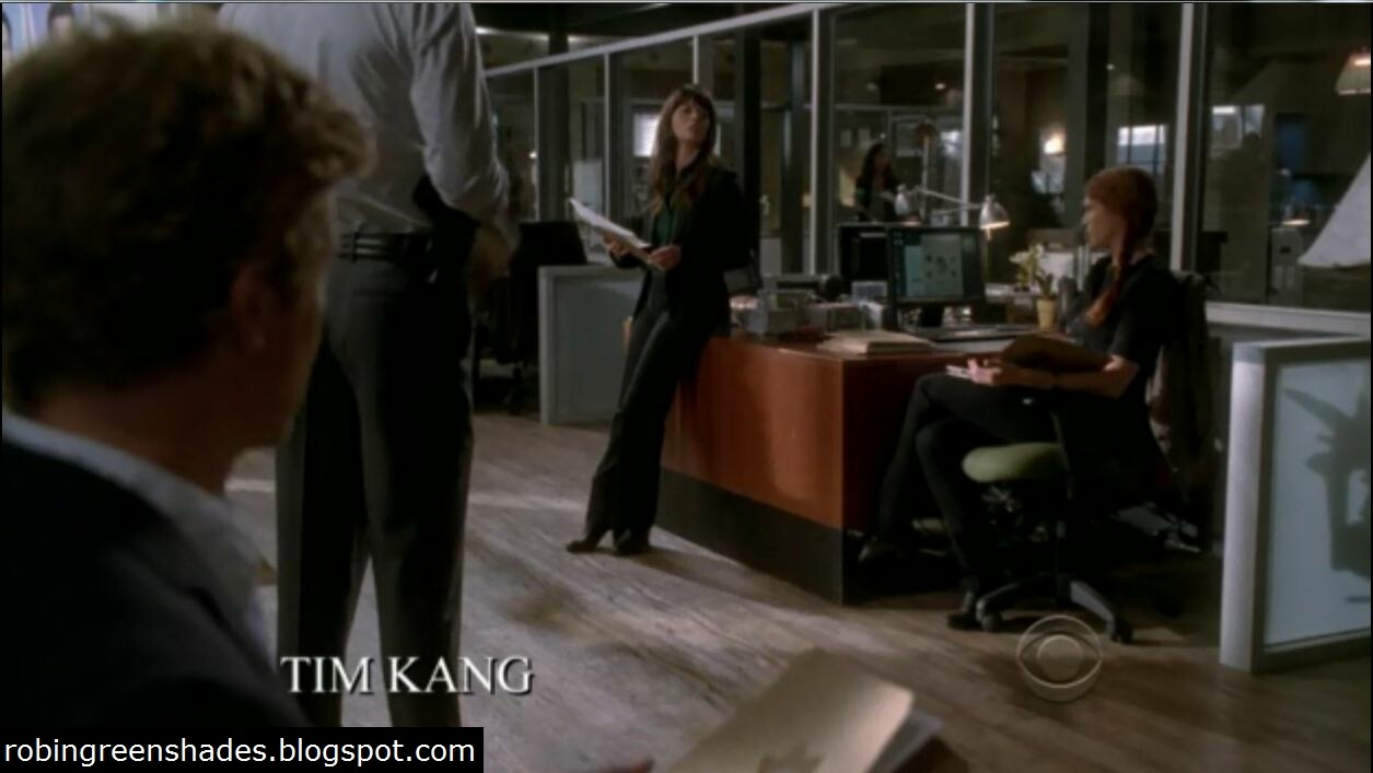 Teresa Lisbon - 4x07 Blinking Red Light