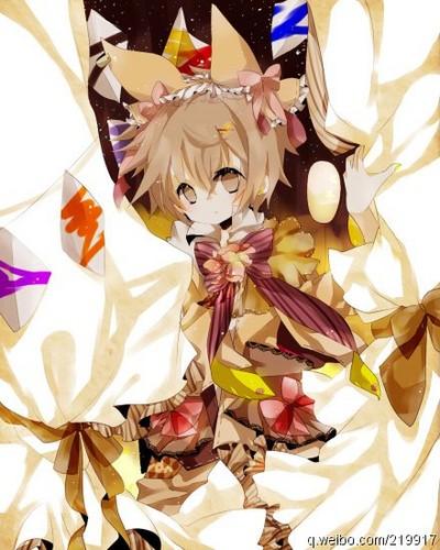 Tsuna (in girl clothes)