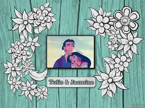 Tulio ♡ Jasmine Wallpaper