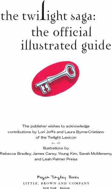 Twilight Saga official Illustrated Guide