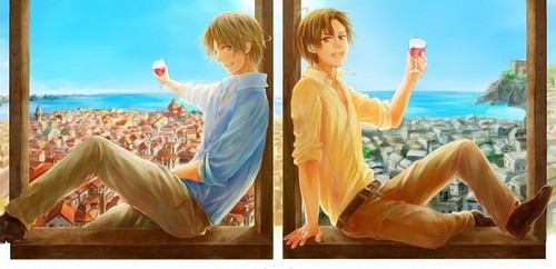 Vino Italiano e fratelli~ - hetalia-italy Photo