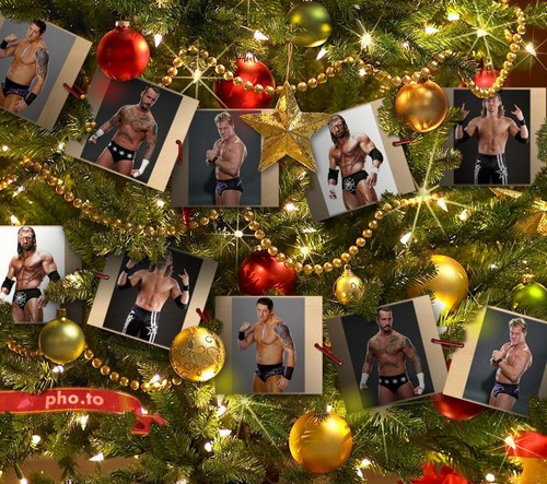 WWE Christmas - wwe Fan Art