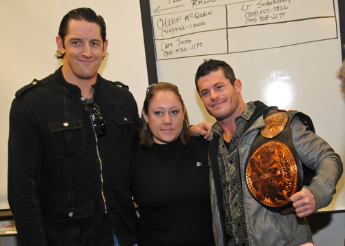 Wade Barrett and Evan Bourne-Tribute to the Troops