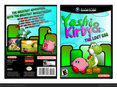 Yoshi and Kirby: The ロスト egg