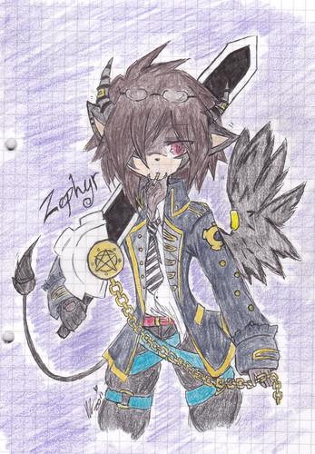 Zephyr The DemonHog