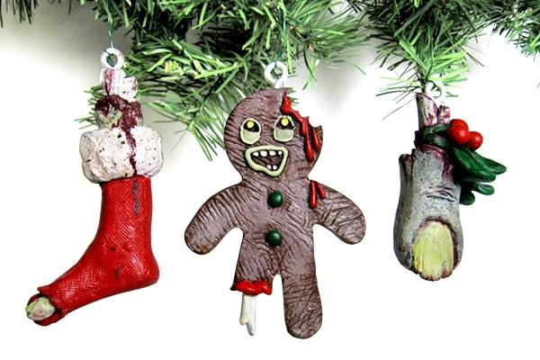 Christmas Zombie Ornam...