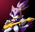 blaze the cat rockstar