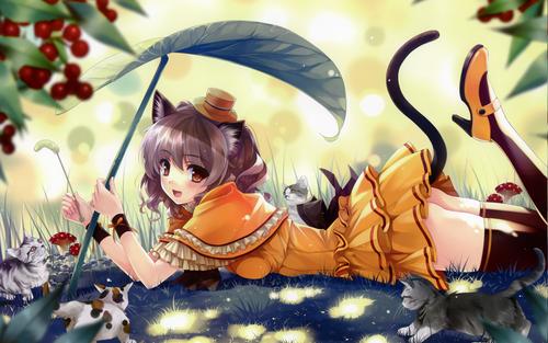 cute anime girl