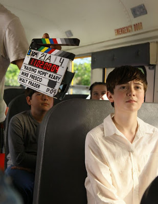 greyson chance on raising hope.. :')