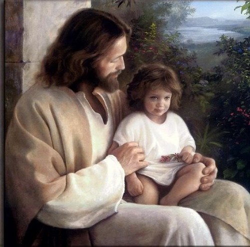 Yesus with child