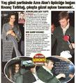 kivanc at his girlfriend ezra 30 birthday yestrday