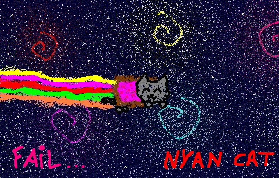 my nyan cat