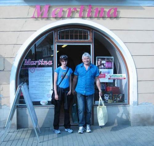 pink Martina Sablikova trade