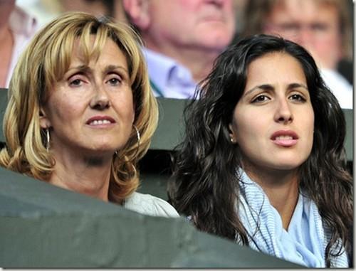rafa mother and xisca look alike !