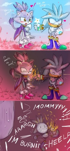 silver and blaze comic